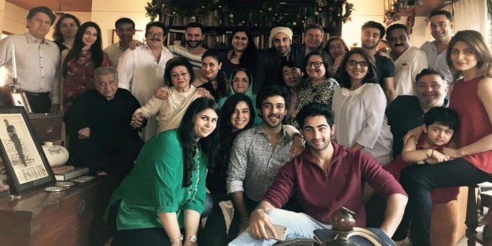 Big on-screen family of Bollywood