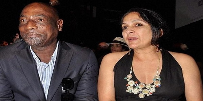 Neena Gupta and Vivian Richards