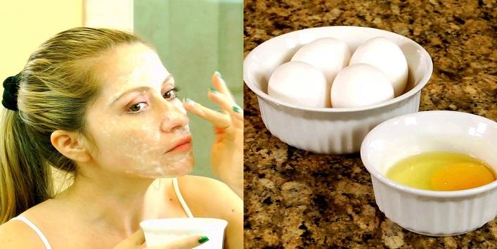 Egg white pack