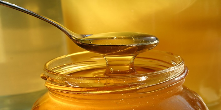 Honey for lip balm