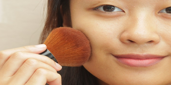 Go for mineral makeup