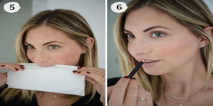 Use blotting paper