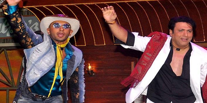 And finally the true OTT's Ranveer and Govinda