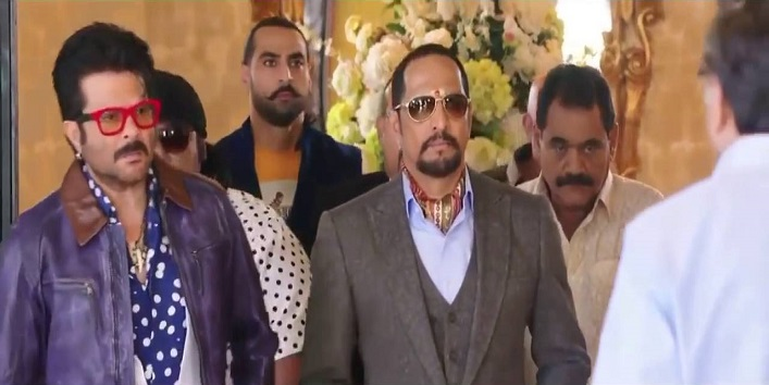From the movie Welcome- Uday Bhai and Majnu Bhai