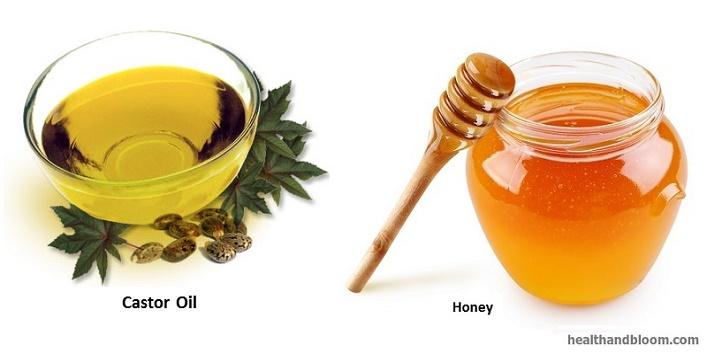 Honey-and-Castor-oil-mask