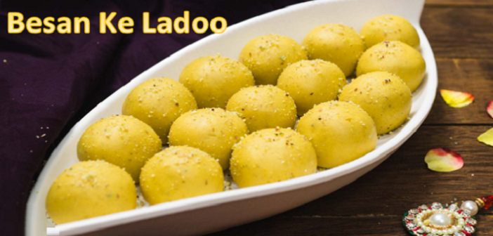 RAKHI SPECIAL: Try The Recipe Of Badami Besan Ke Ladoo At Home!
