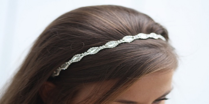 glitter hairband