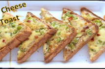 Veg Cheese Toast Recipe