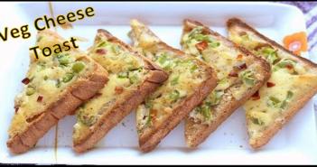 Veg Cheese Toast Recipe