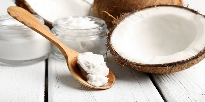 Cook food with coconut oil