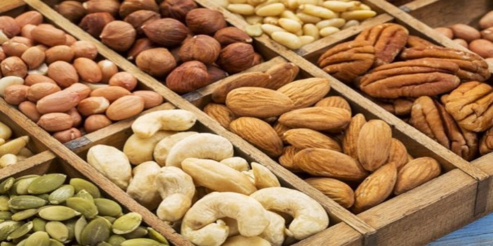 Include nuts in your diet