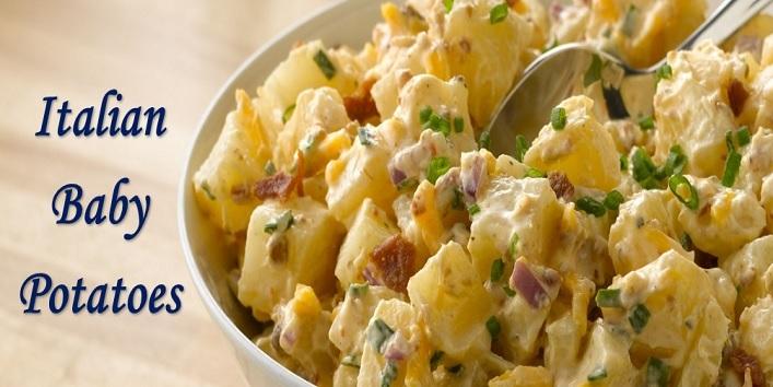 Italian baby potatoes
