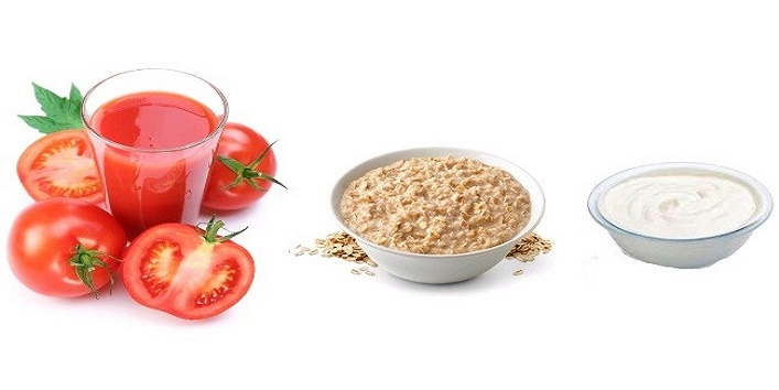 Tomato-oatmeal-and-curd-mask