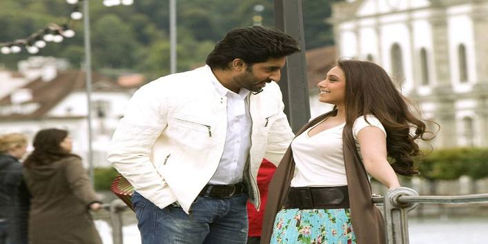Rani-Mukherjee-and-Abhishek-Bachchan