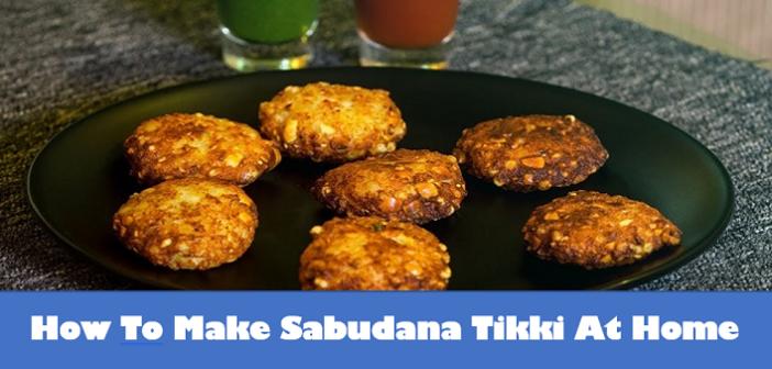 NAVRATRI SPECIAL: How To Make Sabudana Tikki At Home