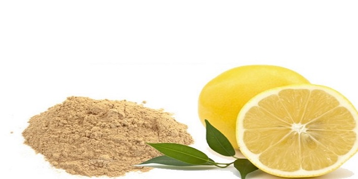 Lemon Juice and Sandalwood Powder
