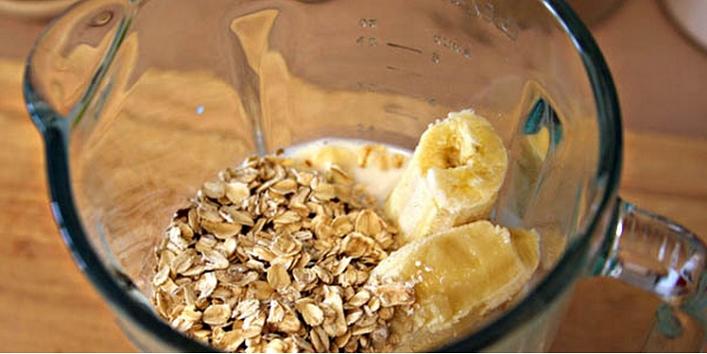 Oatmeal and banana