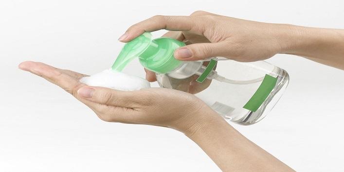 Use antibacterial body wash