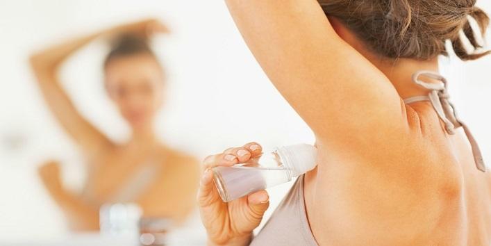 Use antiperspirant at night