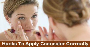 apply concealer