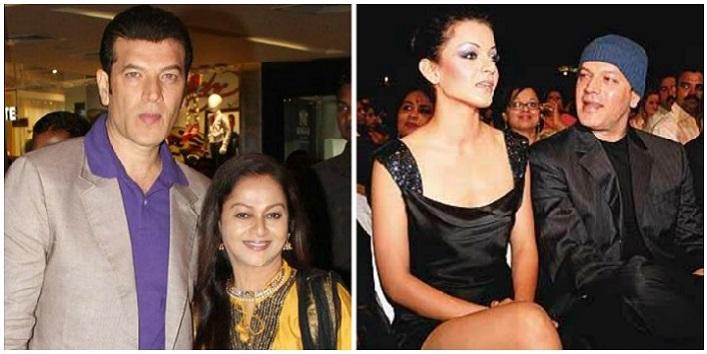 Kangana Ranaut, Aditya Pancholi and Zarina Wahab