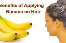 banana on hair