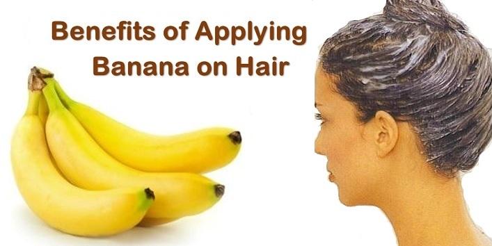 banana on hair