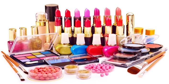Arrange the cosmetics in advance