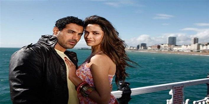 Deepika Padukone and John Abraham