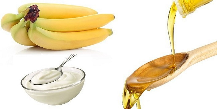 Curd, honey and banana pack to combat wrinkles