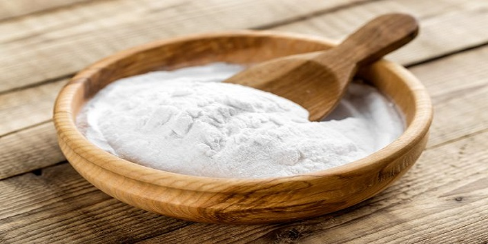 Baking soda for fading breakouts and marks