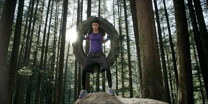 Priyanka Chopra in the movie Mary Kom