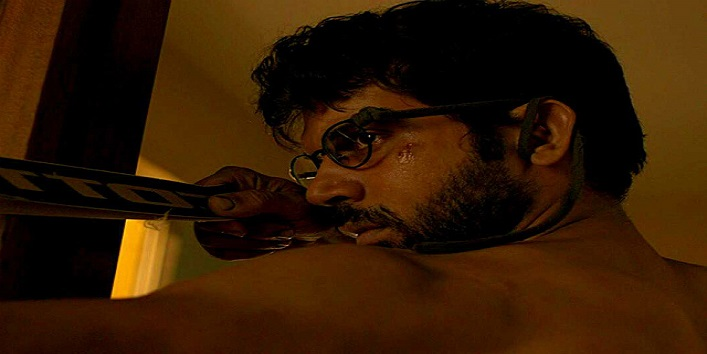 Rajkumar Rao in the movie Trapped