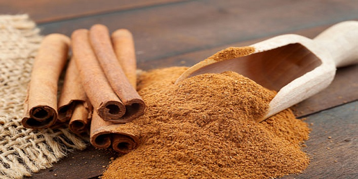 Cinnamon powder for improving the collagen production