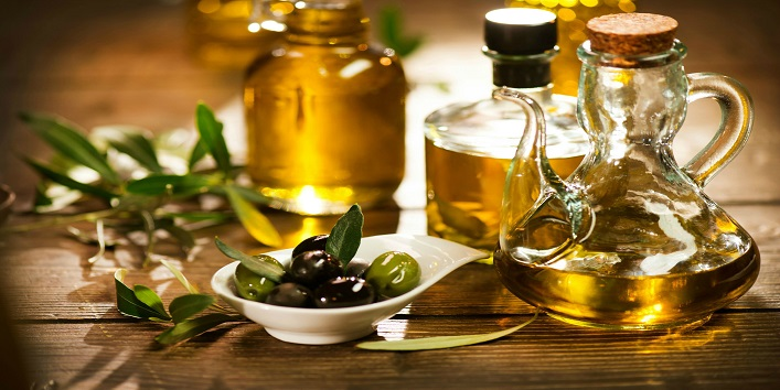Olive oil for making the skin firm