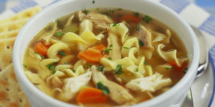 Chicken-noodle-soup-to-combat-cold