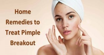 home remedies to treat pimple breakout