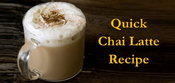 Winter Special: Simple and Quick Chai Latte Recipe