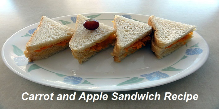 Carrot and Apple Sandwich Recipe