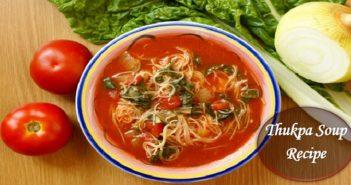 Thukpa Soup Recipe