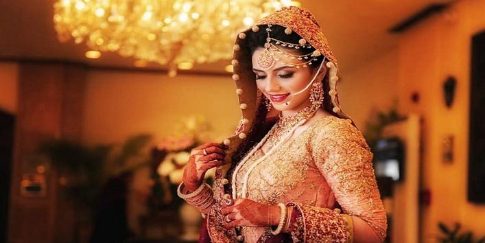 It should compliment your bridal lehenga