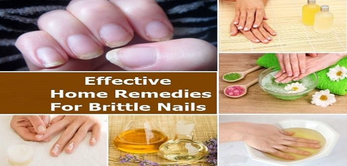Beauty Hack: 6 Effective Home Remedies for Brittle Nails