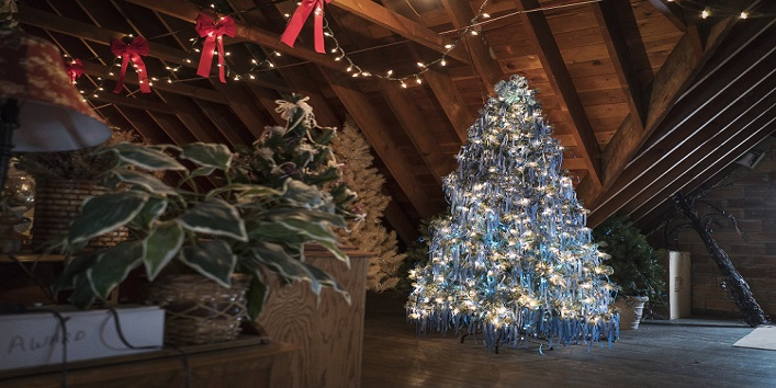 The decorating tradition of Christmas tree was started a long time back!