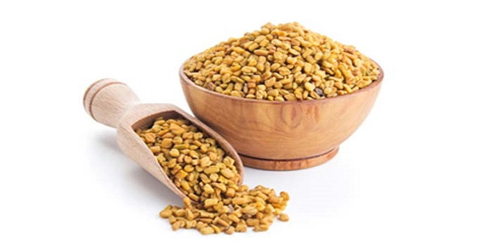 Fenugreek seeds and olive oil mask to fight signs of aging