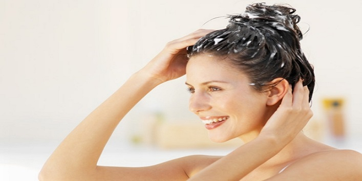 Try to use herbal hair care products
