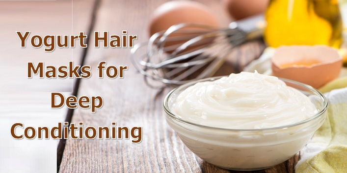 Yogurt Hair Masks for Deep Conditioning