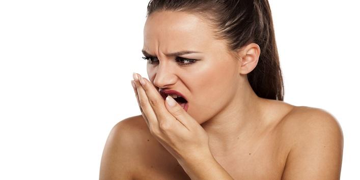 Treats bad breath