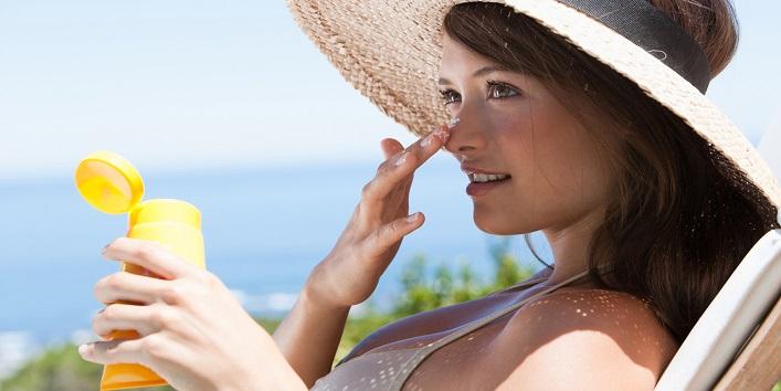 Always apply sunscreen