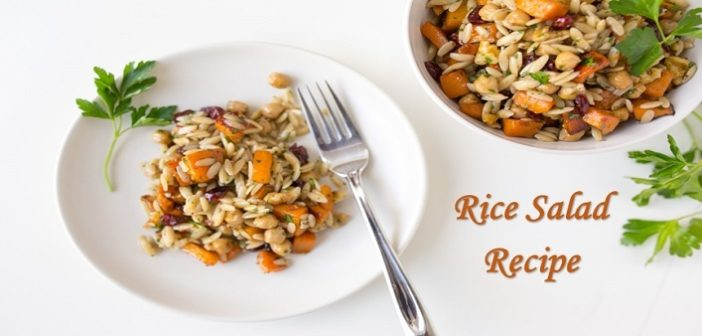 Rice Special: Quick and Simple Rice Salad Recipe