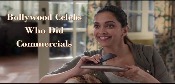 6 Bollywood Celebs Who Did Commercials Before They Hit Stardom